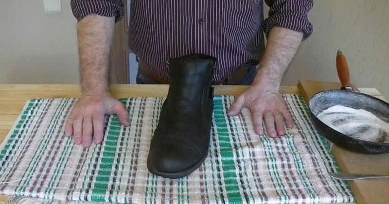 как быстро высушить обувь и удалить запахи
