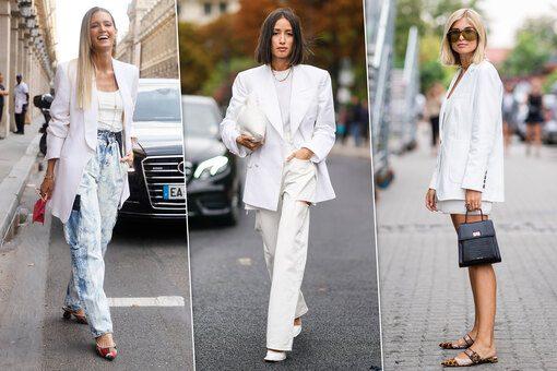 kak i s chem nosit belyj blejzer letom 2020 77e8abf