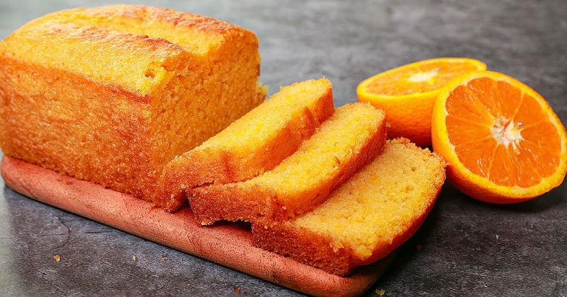 мягкий и ароматный цитрусовый кекс из 1 апельсина
