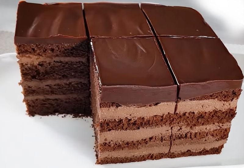 shokoladnyj tort s tvorozhnym kremom